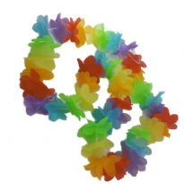 Club Homoware Rainbow-colored Flower leis