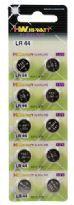 10 pcs. LR44 Button Cell Batteries