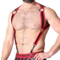 CellBlock 13 Arsenal Harness, Red