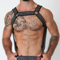 CellBlock 13 Rogue Harness, White