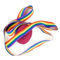 Rainbow Textile Ribbon
