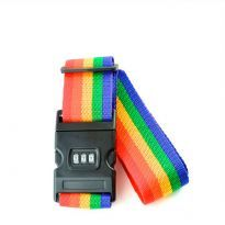 Rainbow Coloured Baggage Belt