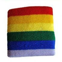 Gay Pride Wrist Band