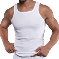 C-IN2 Square Neck Tank Top, White