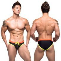 Andrew Christian Swimbriefs Black