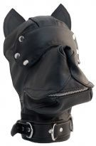 Mister B Leather Dog Hood
