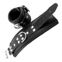 Club Homoware Wrist Restraints Black With Padding, Black