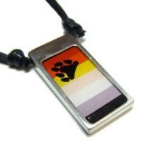 Pendant with bear symbol