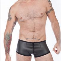 Titus neoprene boxer with a zipper