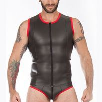 Titus Neoprene Vest with a zipper