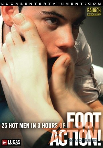 Foot action porn
