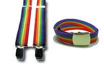 Get ready for the gay pride, Wear the rainbow around your waist, Dress up for the gay pride