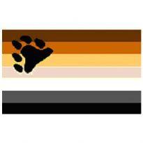 The Boy's Bear Pride Flag