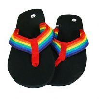 Pride Rinbow Flip Flops