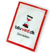 BlivVed serviet (Keep going napkin)