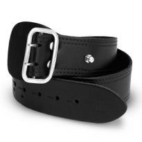 Leather Military Belt 5 cm.