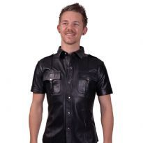 Police shirt with short sleeves