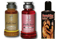 Treat someone you love, Let the enjoyment come to you, Sexy massage oils, Oils for a erotic massage