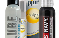 Lubes with additional effects, Lubricant with different effect, Numbing lubes for anal sex, Lubes with special features